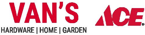 Van's Ace Hardware Logo